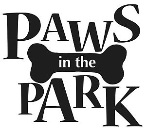Paws in the Park sign